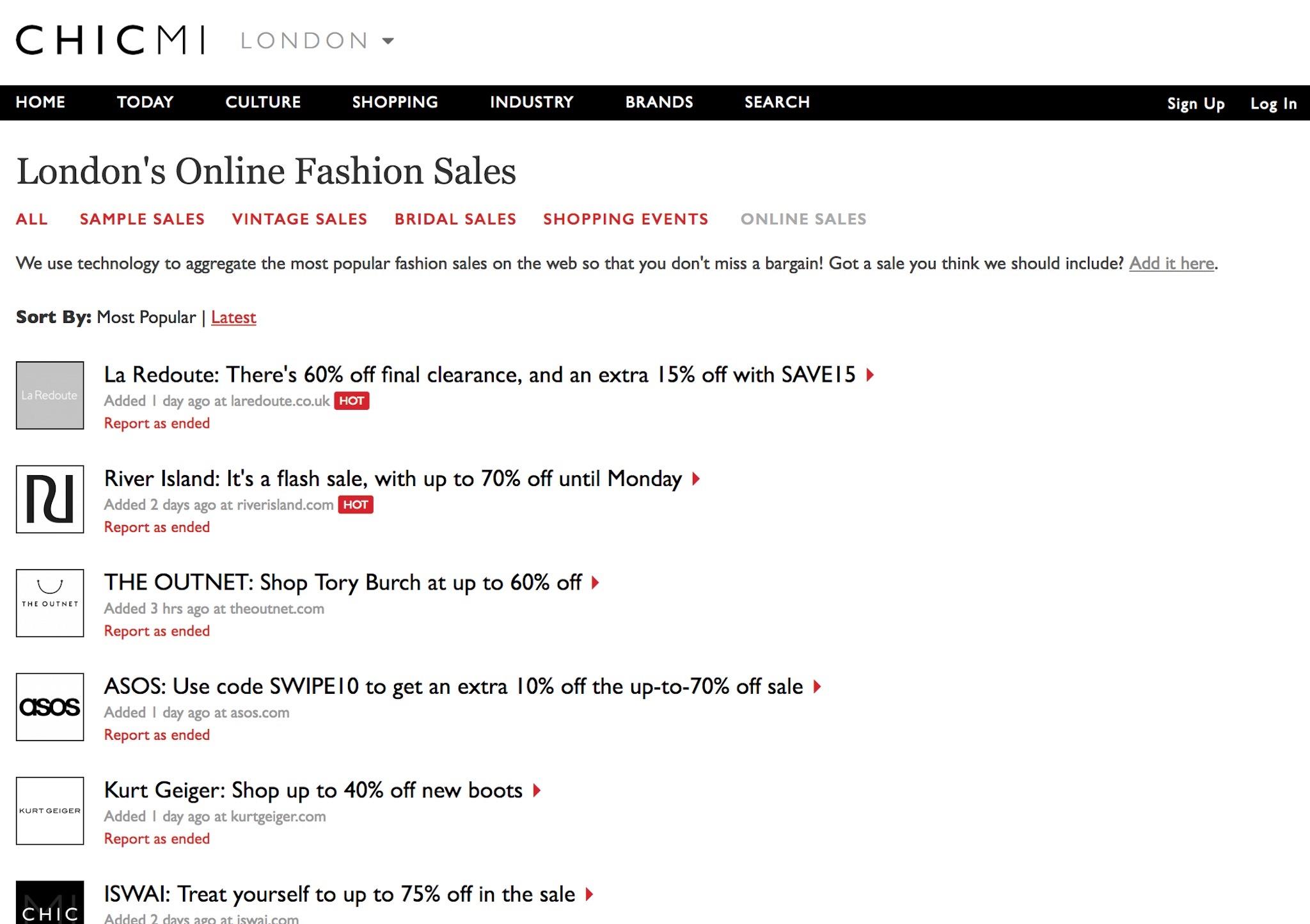 welcoming chicmi s online sales